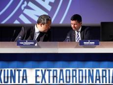 El Deportivo está en crisis institucional. EFE