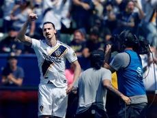 Zlatan a fait un grand match contre Philadelphie. EFE
