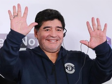 Maradona has taken up his new post in Brest (Belarus). EFE