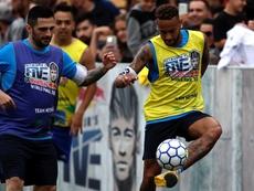 Los cinco de Neymar. EFE