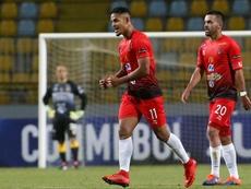 Caracas acabó con su racha negativa en el Clausura. EFE