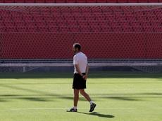 El Sevilla se enfrenta al Akhisarspor en Nervión. EFE/Archivo
