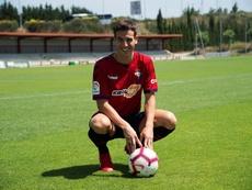 Iñigo Pérez, muy optimista tras vencer al Levante. EFE