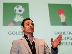Velasco Carballo defendió el VAR. EFE