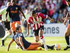 Donyell Malen ha irrumpido con fuerza en el PSV. EFE/Archivo
