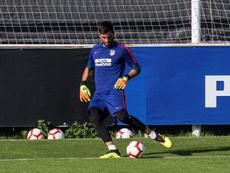 Adán fue a Lisboa a negociar las bases de su contrato. EFE