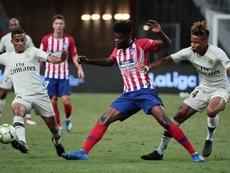 En el Atlético no quieren dejar marchar a Thomas. EFE