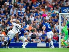 Daniel Wass scored the winning goal in the match. EFE