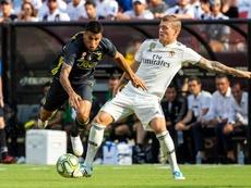 La Juventus decide vender a Cancelo (i). EFE
