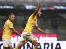 Pizarro, caliente tras la derrota ante Monterrey. EFE