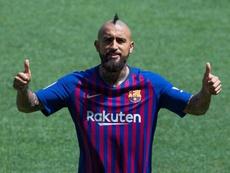 Arturo Vidal está encantado de que digan que es un jugador de barrio. EFE
