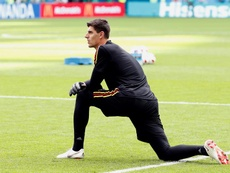 Courtois should complete his move on Thursday. EFE