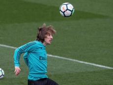 The Modric saga rumbles on. EFE