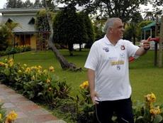 Richard Páez, candidato a entrenador en la Selección de Bolivia. EFE