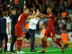 Fabinho says he is ready for his competitive Liverpool debut. EFE