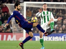 Gomes spoke of his suffering at Barça. EFE