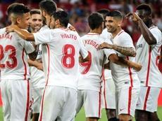 El Sevilla pasó de ronda en Europa League. EFE