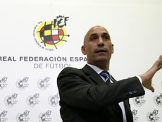 Luis Rubiales, head of the RFEF. EFE