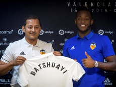 Batshuayi arrived at Valencia on loan this summer. EFE
