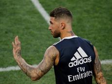 Ramos analizó la Supercopa ante el Atlético. EFE