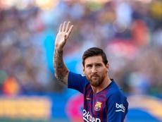Messi marcou na estreia da LaLiga 2018/19. EFE