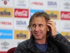Gareca a prolongé avec le Pérou. EFE