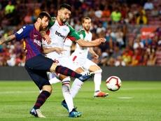 El Barça comienza como acabó la Liga. EFE