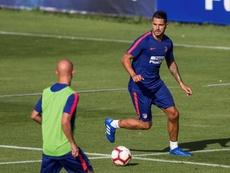 Vitolo marcó y espera tener continuidad en la nueva temporada. EFE