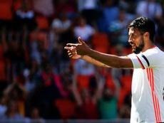 Garay defendió la figura de Marcelino. EFE