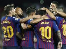 Messi e Coutinho podem ser fundamentais para conseguirem a vitória. EFE