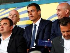 Sánchez habló de una candidatura tripartita. EFE