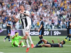 Beckham's team, Inter Miami, want Madzukic to lead the attack. EFE
