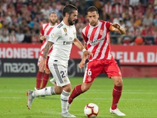 El sorteo de cuartos emparejó al Madrid con el Girona. AFP