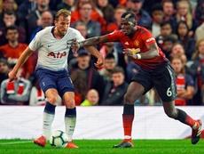 El United no puede hacerse con Harry Kane. AFP
