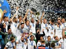 Los blancos tienen 13 títulos de Champions. EFE