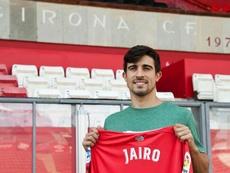 Jairo, de vuelta en el Girona. EFE/Archivo