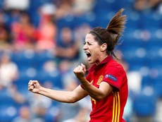 Vicky Losada cuenta su propia experiencia en el fútbol femenino profesional. EFE