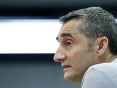 Certaines choses n'ont pas plu à Valverde. EFE