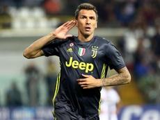 Juventus forgot to invite Mandzukic to the Christmas party. EFE