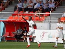 Vinicius podría estar disponible para el duelo ante el Barça. EFE
