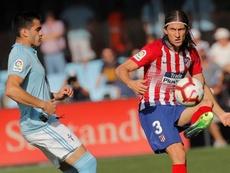 Colocan a Filipe Luis en la agenda del Barça. EFE