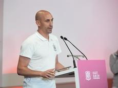 Luis Rubiales no autorizará la disputa del Girona-Barça en Miami. EFE/Archivo
