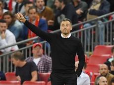 Luis Enrique espera lograr un triunfo ante Bosnia. EFE