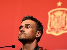 Luis Enrique, the new Spain manager. AFP