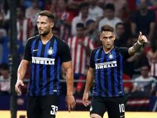 Lautaro Martínez puede dejar el Inter. EFE