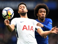 Willian veut rester longtemps à Chelsea. EFE