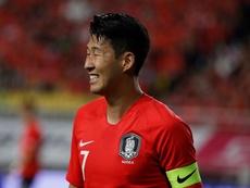 Para Heung-Min Son el resultado fue lo de menos. EFE