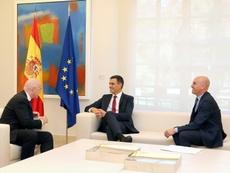 España quiere organizar un Mundial o una Eurocopa. EFE
