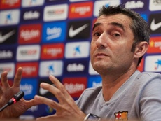 Pour Valverde, Messi reste 'The Best'. EFE