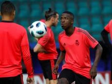 Flamengo no consiguió que el Madrid cediera. EFE/Archivo
